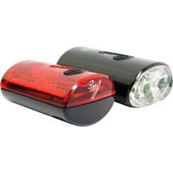 FWE USB Re-chargeable 80/15 Lumen LED Light Set