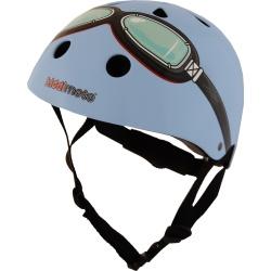 Kiddimoto Blue Goggles Helmet