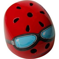 Kiddimoto Red Goggles Helmet