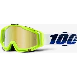 100% RACECRAFT GP21 - Mirror Gold Lens SS18