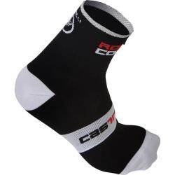 Castelli Rosso Corsa Sock 9cm 2017