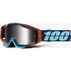 100% RACECRAFT Ergono - Mirror Silver Lens SS18