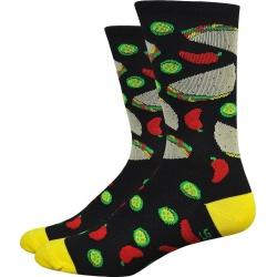 "Defeet Aireator 6"" Taco Tuesday Socks"