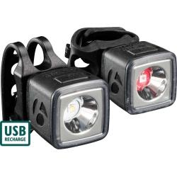 Bontrager Ion 100/Flare R City Light Set - 100/35 Lumen